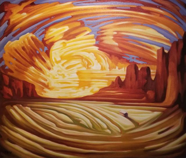 , 'Valley Sunset,' , Modernist Frontier