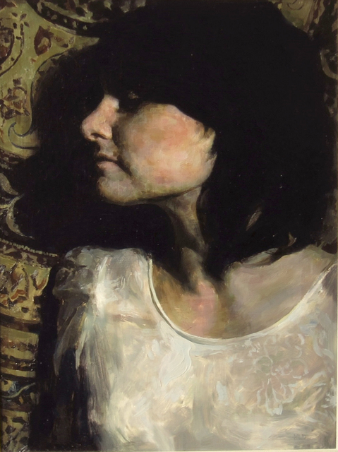 , 'Black and Yellow Girl,' , Sirona Fine Art