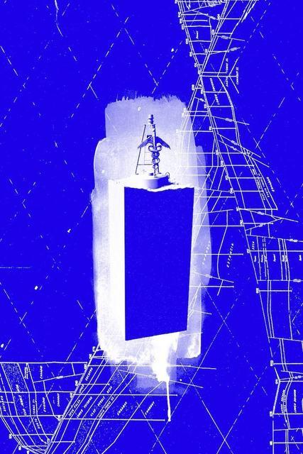 , 'Mar Cerrado (draft 2 - blue),' 2016, Madragoa