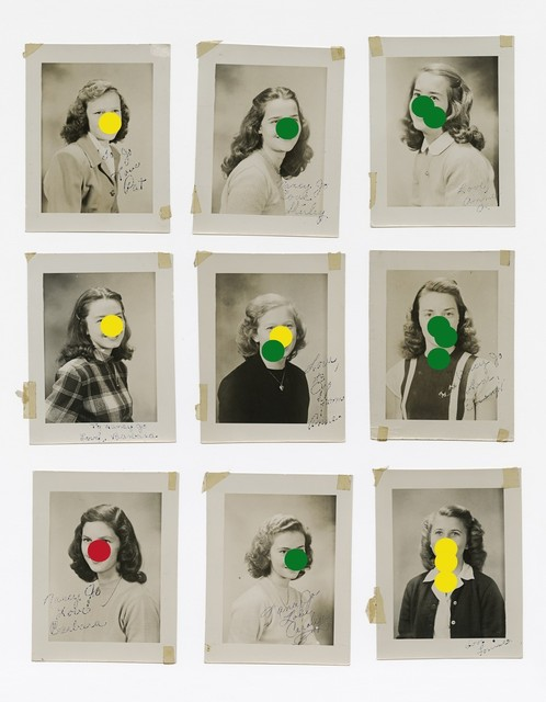 , 'All the girlfriends I have had, from the series What Photography has in Common with an Empty Vase  ,' 2020, Purdy Hicks Gallery