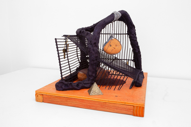 Anna Sew Hoy, 'Memory of Future', 2020, Sculpture, Fired clay and glaze, found metal, mixed media, Various Small Fires