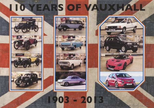 Peter Blake, '110 Years of Vauxhall', 2013, Forum Auctions