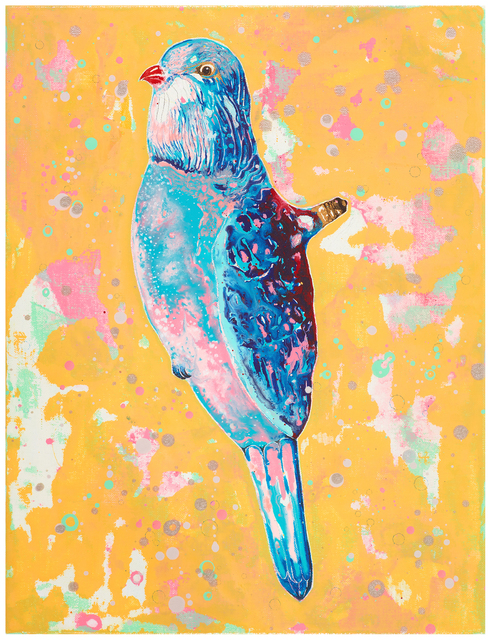 , 'Figural Light – Bird with Red Beak,' 2016, NUNU FINE ART