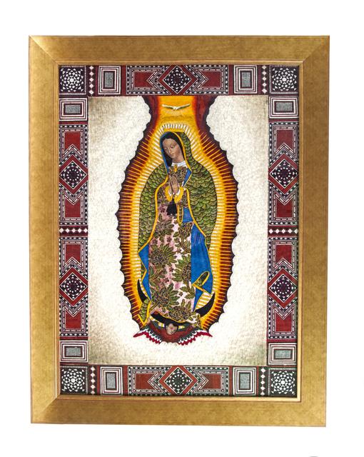", '""Virgen de Guadalupe con Marco Taraceado"",' 2017, Cactus Fine Art"