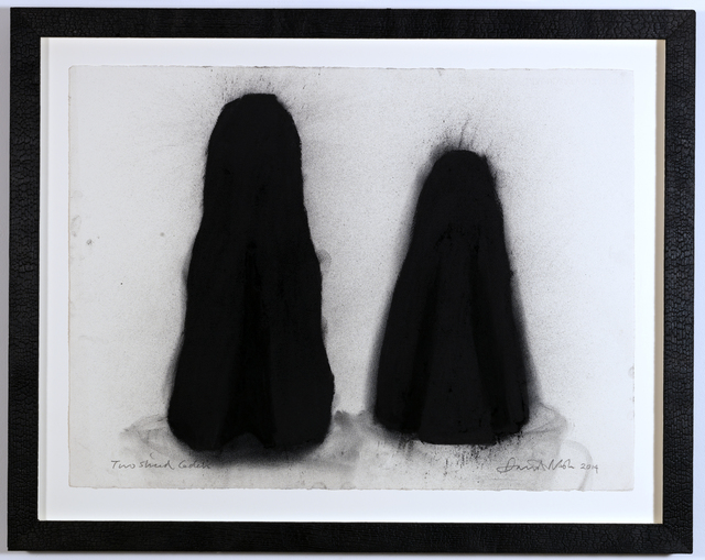 , 'Two Sliced Cedars II,' 2014, Annely Juda Fine Art