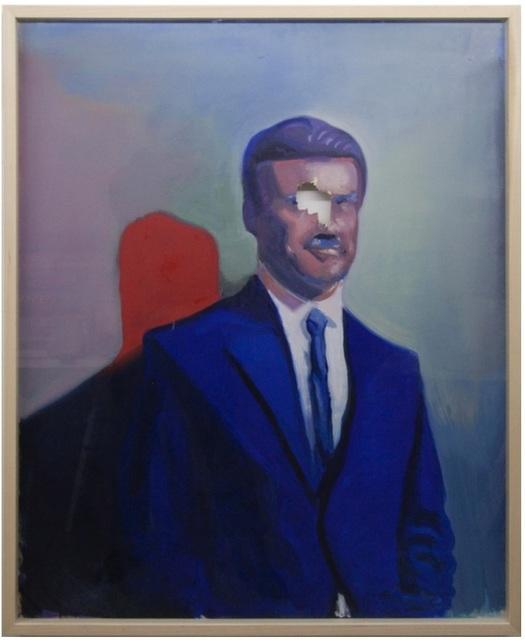 , 'Pinchon and its shadow redhead,' 2014, Magazzino