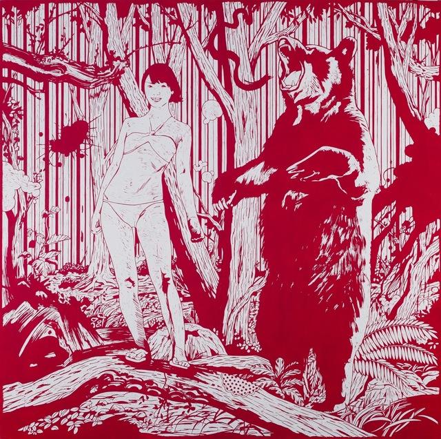 Kenichi Yokono, 'Girl and Bear', 2009, Japigozzi Collection