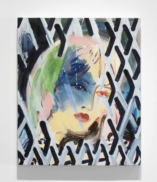 , 'Blue Eye/Red Eye,' 2016, Inman Gallery