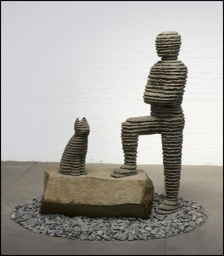 , 'Yizhaq with Cat,' 2009, SPONDER GALLERY