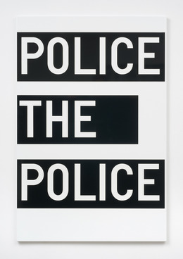 , 'untitled (police the police),' 2011, 1301PE