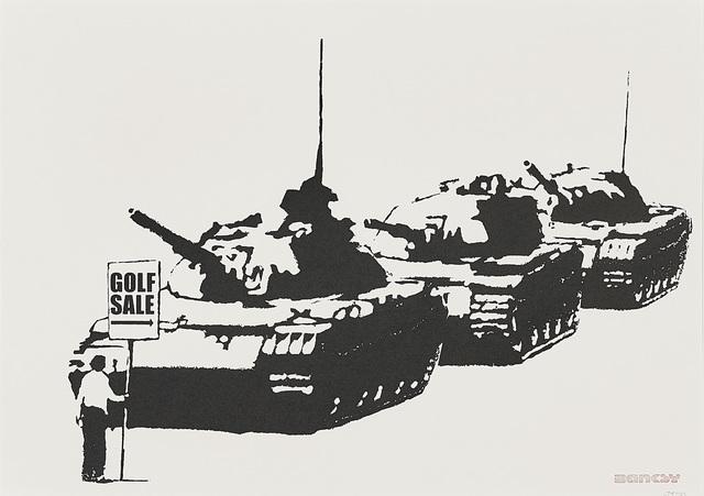 Banksy, 'Golf Sale', 2003, Phillips
