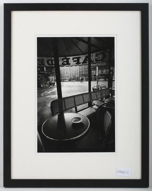 Jeanloup Sieff, 'Cafe De Flore', 1976, Chiswick Auctions