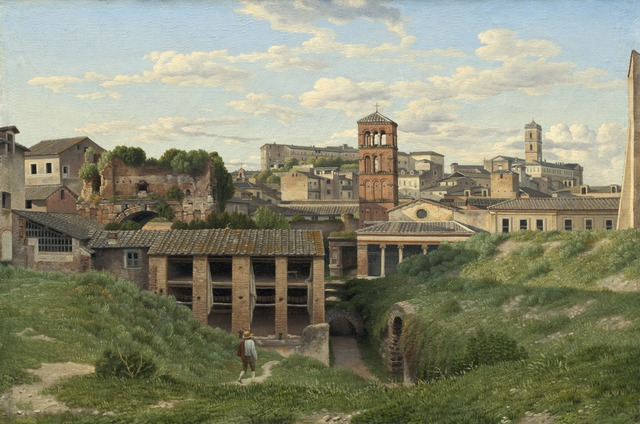 , 'View of the Cloaca Maxima, Rome,' 1814, Statens Museum for Kunst
