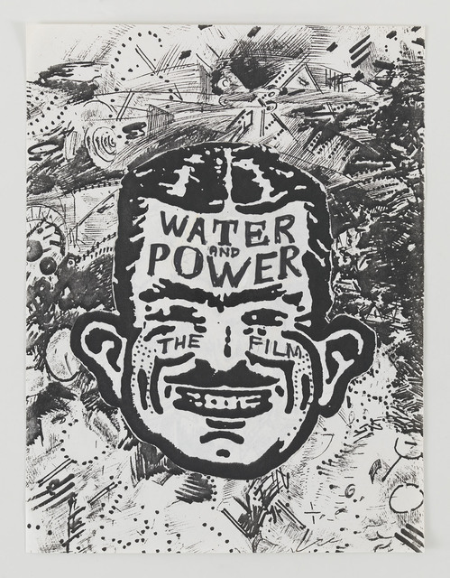 , 'Water and Power, the film,' 1986, Mitchell-Innes & Nash
