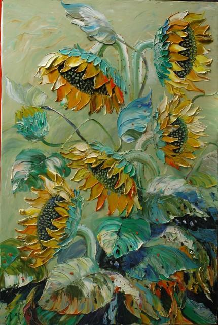 , 'Sunflowers ,' 2005, A-Art Shengzan Gallery