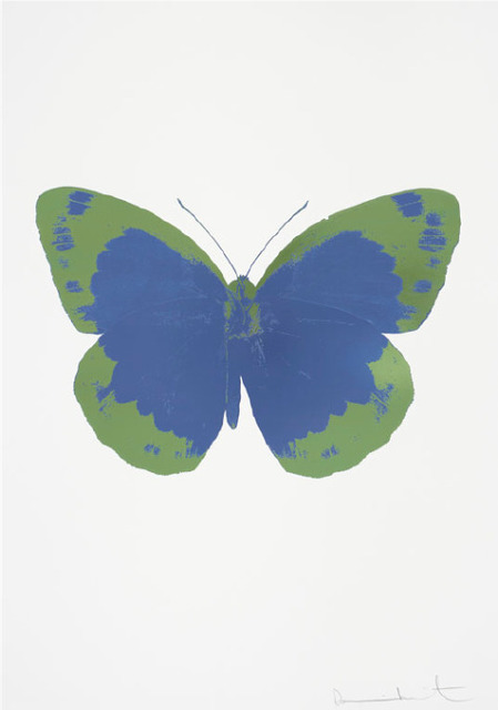 , 'Frost Blue – The Souls II – Frost Blue - Leaf Green,' 2010, Um Galeria