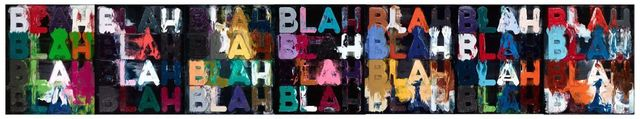 , 'Blah, Blah, Blah,' 2014, Peter Freeman, Inc.
