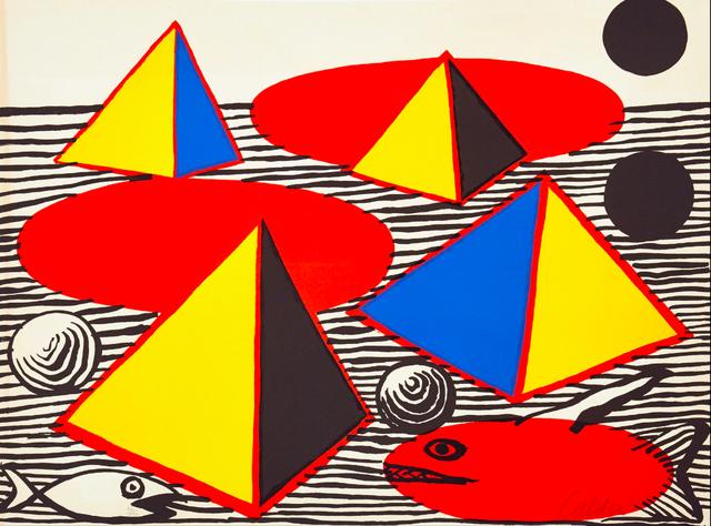 , 'Fish and Pyramids,' 1976, BOCCARA ART