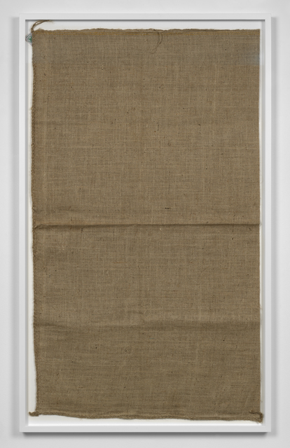 , 'Untitled (Sack #1),' 2013, Simon Lee Gallery