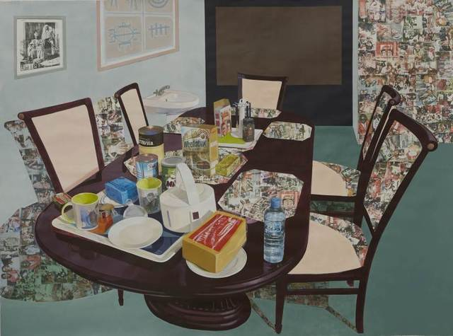 , 'Tea Time in New Haven Enugu,' 2014, Hammer Museum