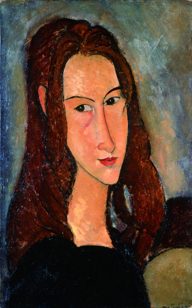 Amedeo Modigliani. Portrait de la jeune fille rousse (Jeanne Hébuterne)