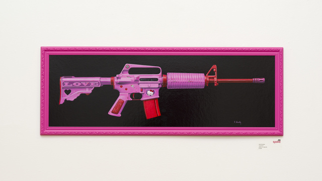 , 'Love Gun,' 2013, Spoke Art