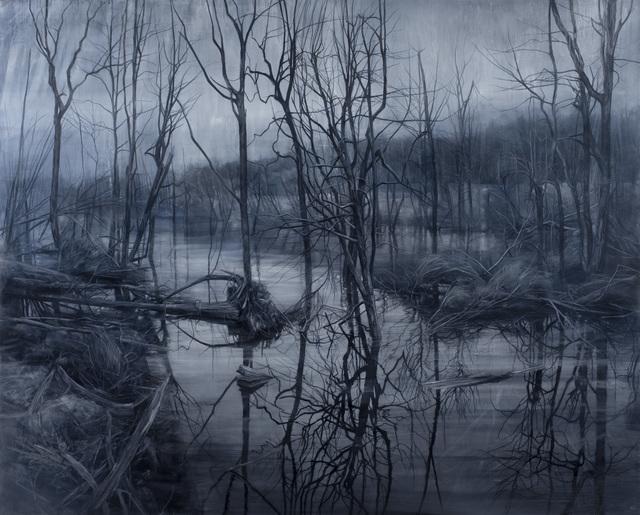 Nicholas Blowers, 'Savage Entropy in Paynes Grey', 2019, Painting, Oil on canvas, Nanda\Hobbs