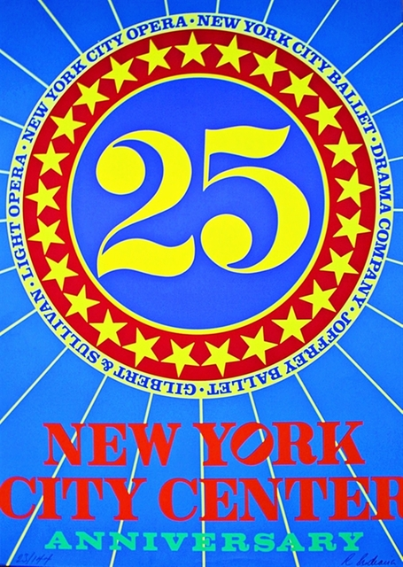 Robert Indiana, 'New York City Center of Music and Drama (Hand signed and numbered)', 1968, Alpha 137 Gallery