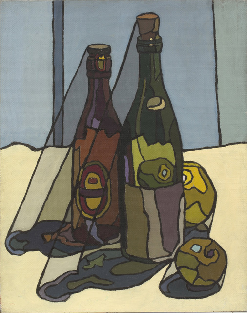 , 'Still Life with Bottles,' ca. 1955, Piano Nobile