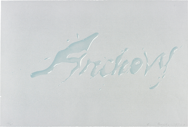 Ed Ruscha, 'Anchovy', 1969, Phillips