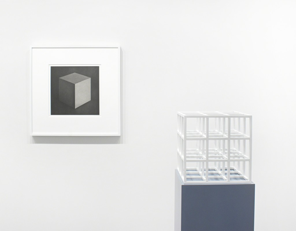 Cube, 1997 and Untitled (Cube), 1979