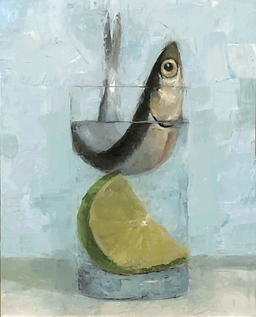 Tom Giesler, 'Floral 33: anchovy lime', 2020, Painting, Oil on panel, McVarish Gallery