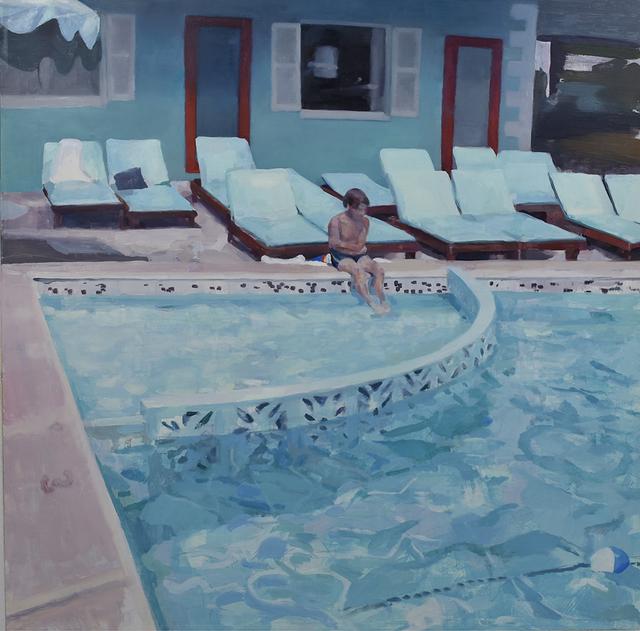 , 'Poolside,' 2018, Linda Hodges Gallery