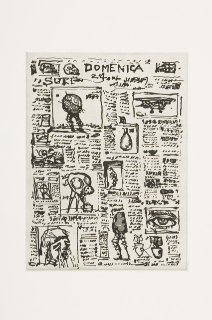 , 'L'Inesorabile Avanzata, Newspaper Unread (Set of 5 Prints),' 2007, David Krut Projects