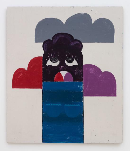 , 'De wolken vreter,' 2016, Carl Freedman Gallery