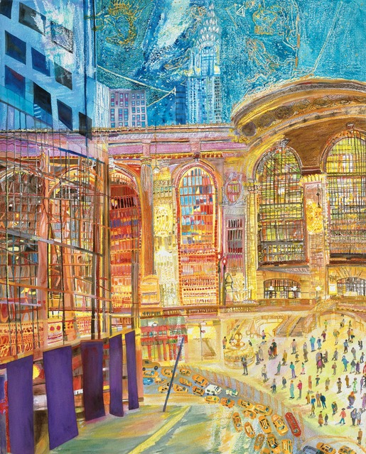 , 'Grand Central:Inside/Outside,' 2012, Bookstein Projects