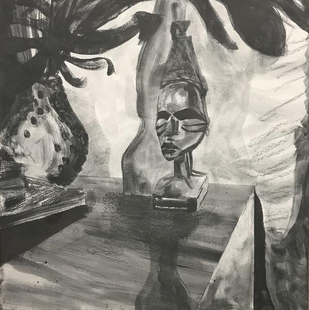 Glyneisha Johnson, 'Orange Moon Study', 2019, Haw Contemporary