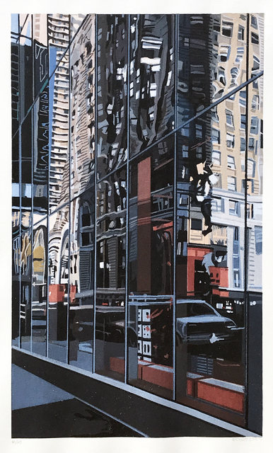 Richard Estes, 'Times Square', 2000, Eckert Fine Art