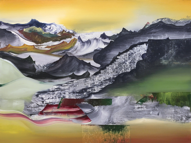 , 'Psychoid Moraine,' 2016, Pierogi