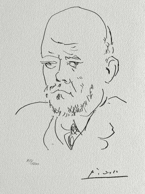Pablo Picasso, 'Ambroise Vollard (Suite Vollard Planche C)', 1973, ByNewArt
