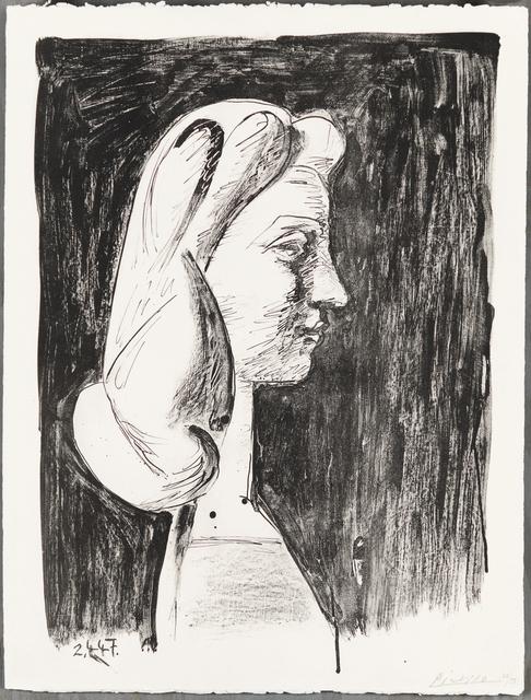 , 'GRAND PROFIL (Large Profile),' 1947, Christopher-Clark Fine Art