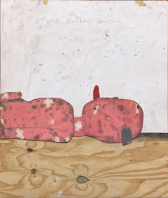 , '60th Birthday Painting,' 2017, Conduit Gallery