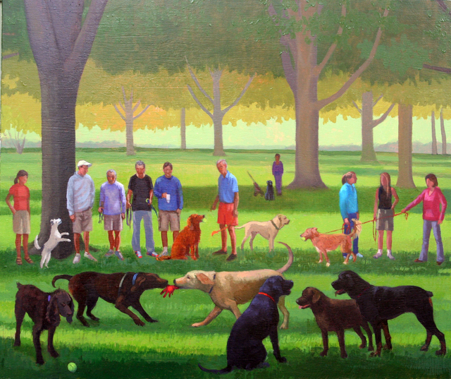 , 'Third Panel with Willy,' 2013, Dog & Horse Fine Art