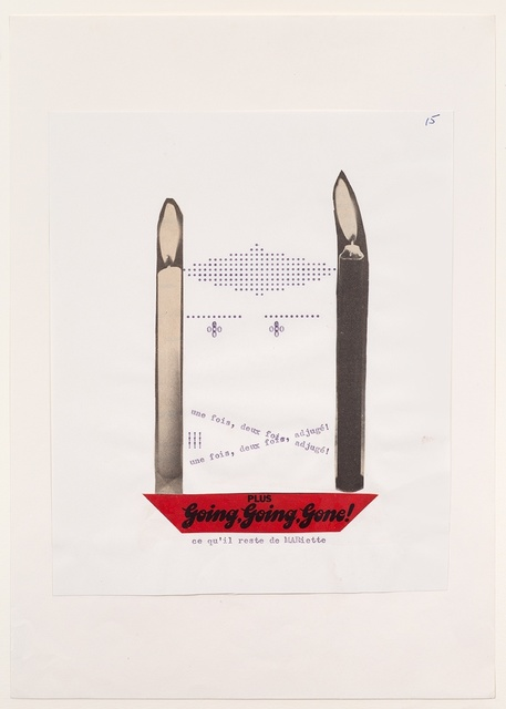 , 'Going, Going, Gone!,' 1972, Richard Saltoun