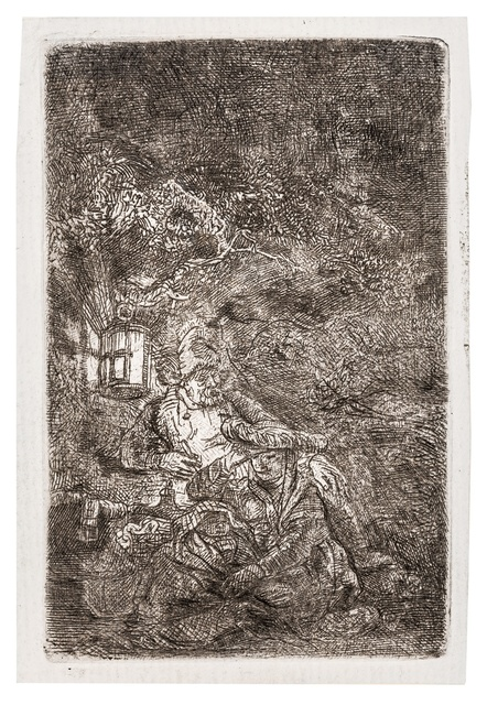 Rembrandt van Rijn, 'The Rest on the Flight into Egypt: a Night Piece', 1644, Forum Auctions