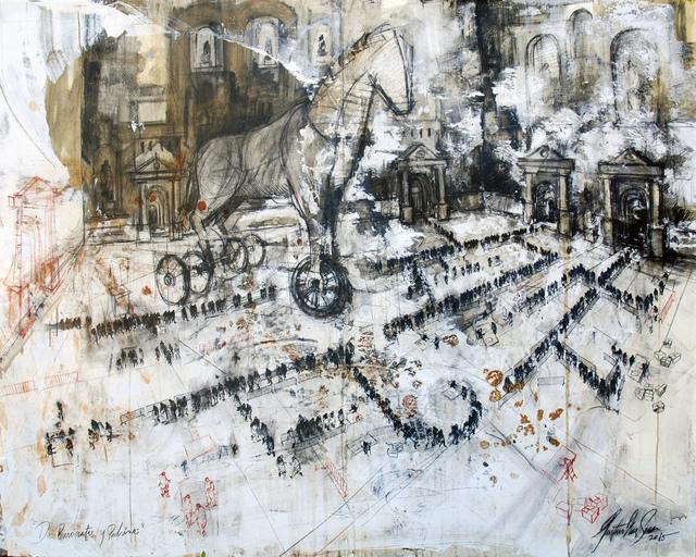 Gustavo Diaz Sosa, 'Series: De Burócratas y Padrinos', 2015, Victor Lope Arte Contemporaneo