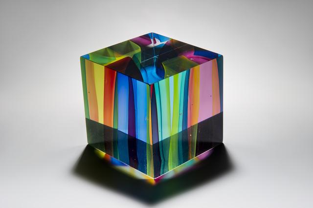 , 'Tesseract,' 2016, London Glassblowing Gallery