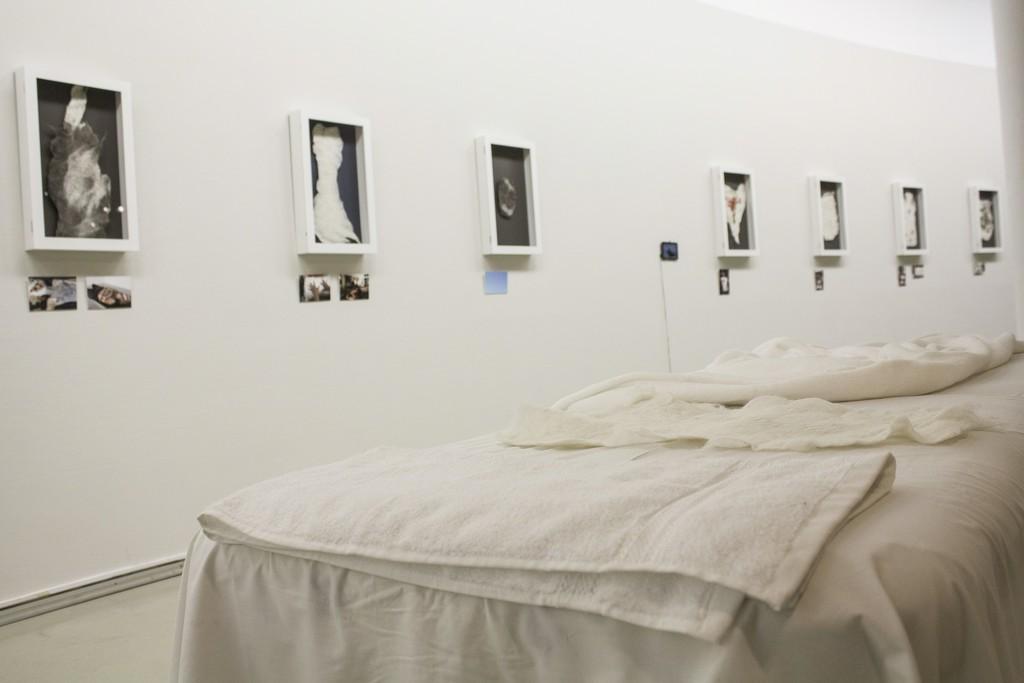 Fragment of exhibition. Photography by Airida Rekštytė