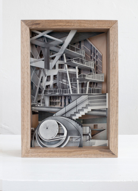 , 'Ausstellungen, Ausstellungsbauten,' 2016, Raum mit Licht