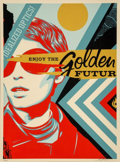 Shepard Fairey, 'Untitled, from Golden Future for Some', 2017, Heritage Auctions